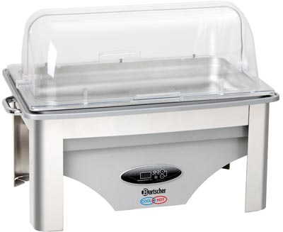 Bain marie – chafing dish électrique Cool + Hot